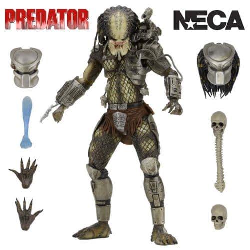 "PREDATOR ULTIMATE JUNGLE HUNTER PREDATOR 7"" ACTION FIGURE FROM NECA"