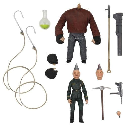 PUPPET MASTER PINHEAD AND TUNNELER ULTIMATE ACTION FIGURE 2-PACK FROM NECA