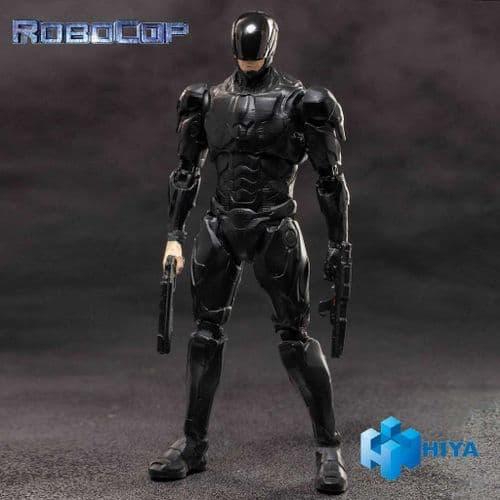 ROBOCOP 2014 ROBOCOP BLACK 1:18 EXQUISITE MINI ACTION FIGURE FROM HIYA TOYS