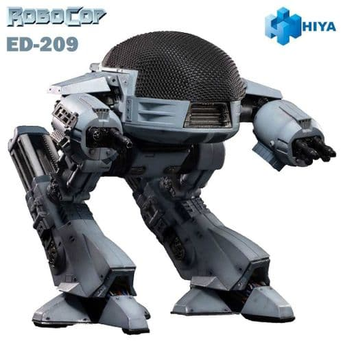 ROBOCOP ED-209  WITH SOUND 1:18 EXQUISITE MINI ACTION FIGURE FROM HIYA TOYS