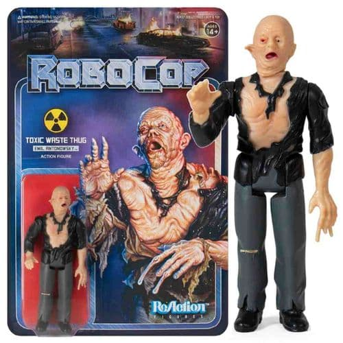 ROBOCOP REACTION EMIL ANTONOWSKY ACTION FIGURE FROM SUPER7