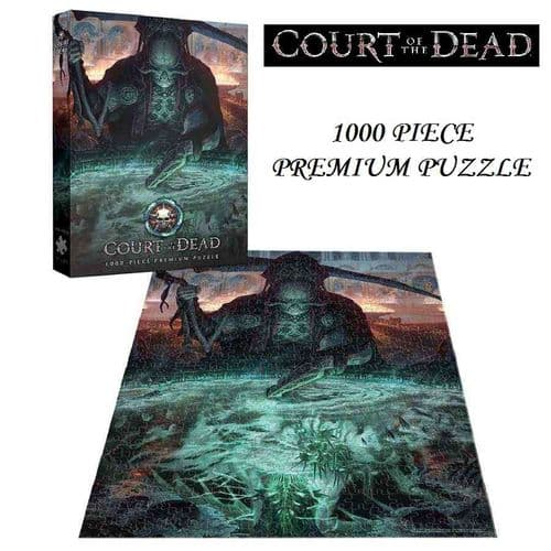 COURT OF THE DEAD - THE DARK SHEPHERD'S REFLECTION 1000 PIECE PREMIUM JIGSAW PUZZLE FROM USAOPOLY