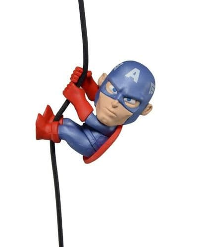 """SCALERS - WAVE 3 - MARVEL CAPTAIN AMERICA 2"""" CHARACTER FROM NECA"""