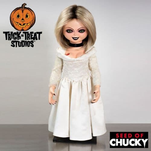 SEED OF CHUCKY PROP REPLICA 1:1 SCALE TIFFANY DOLL FROM TRICK OR TREAT STUDIOS