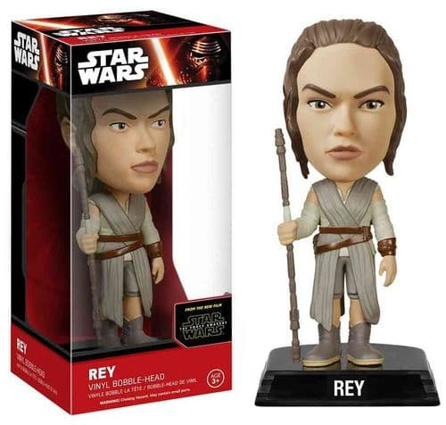 STAR WARS EPISODE VII THE FORCE AWAKENS - REY WACKY WOBBLER FROM FUNKO