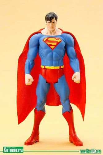 SUPERMAN CLASSIC COSTUME ARTFX+ STATUE FROM KOTOBUKIYA