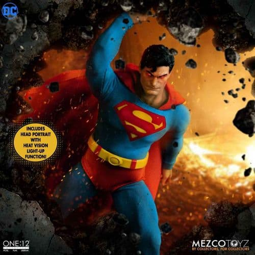 SUPERMAN MAN OF STEEL EDITION ONE:12 COLLECTIVE ACTION FIGURE FROM MEZCO TOYZ