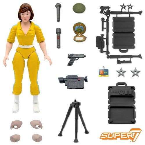 TEENAGE MUTANT NINJA TURTLES ULTIMATES ACTION FIGURE APRIL O'NEIL FROM SUPER7