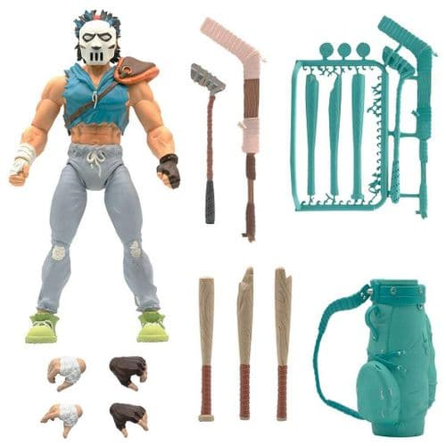 TEENAGE MUTANT NINJA TURTLES ULTIMATES ACTION FIGURE CASEY JONES FROM SUPER7