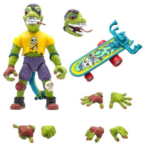 TEENAGE MUTANT NINJA TURTLES ULTIMATES ACTION FIGURE MONDO GECKO FROM SUPER7