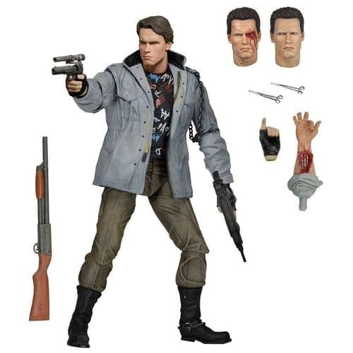 "TERMINATOR 7"" ULTIMATE TECH NOIR T-800 ACTION FIGURE FROM NECA"
