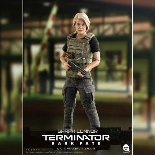 TERMINATOR: DARK FATE 1:12 SCALE SARAH CONNER ACTION FIGURE FROM THREEZERO