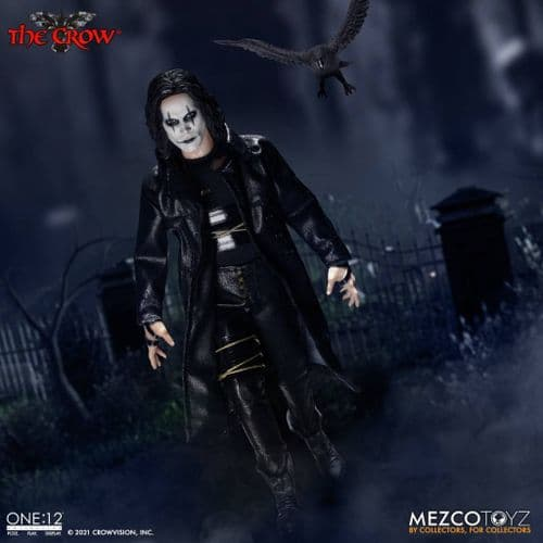 THE CROW ONE:12 COLLECTIVE ACTION FIGURE FROM MEZCO TOYZ