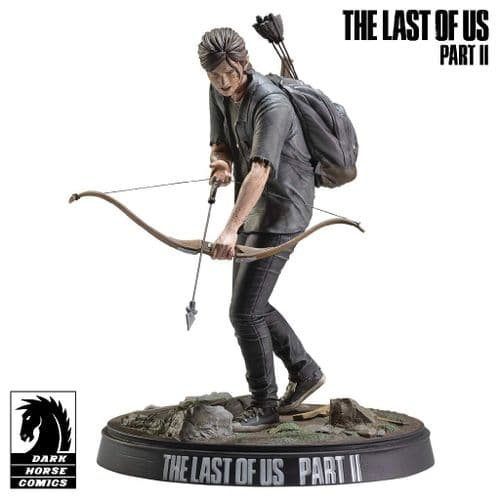 "THE LAST OF US PART II ELLIE WITH BOW 8"" FIGURE FROM DARK HORSE"
