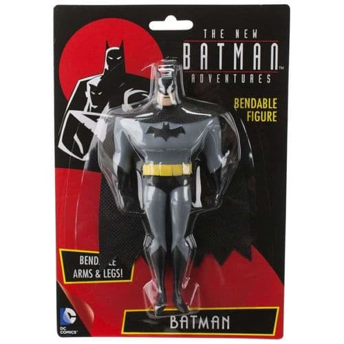 THE NEW BATMAN ADVENTURES BATMAN BENDABLE FIGURE FROM NJ CROCE