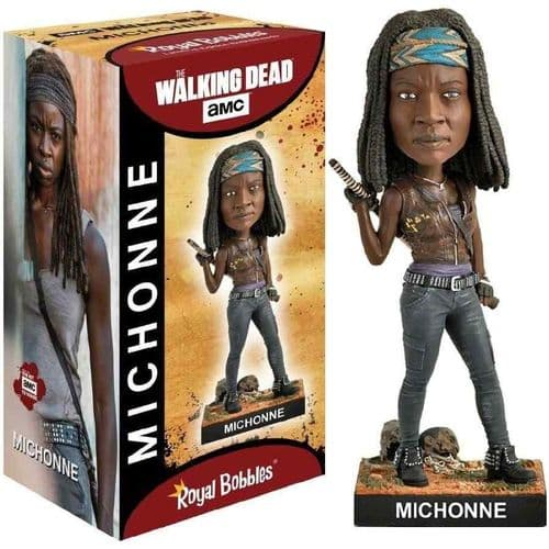 THE WALKING DEAD MICHONNE BOBBLEHEAD FROM ROYAL BOBBLES