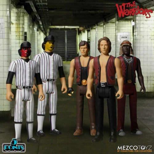 THE WARRIORS 5 POINTS BOX SET FROM MEZCO TOYZ