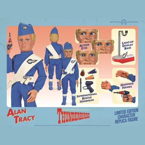 THUNDERBIRDS INTERNATIONAL RESCUE ALAN TRACY 1:6 CHARACTER REPLICA FIGURE FROM BIG CHIEF STUDIOS