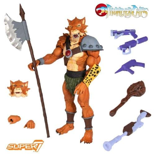 THUNDERCATS ULTIMATE JACKALMAN ACTION FIGURE FROM SUPER7