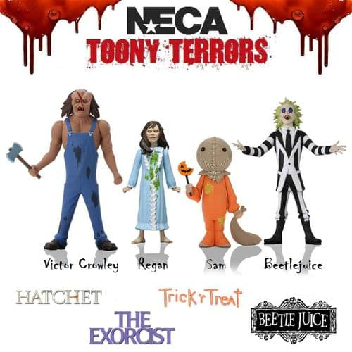 "TOONY TERRORS 6"" STYLIZED ACTION FIGURES SERIES 4 ASSORTMENT FROM NECA"
