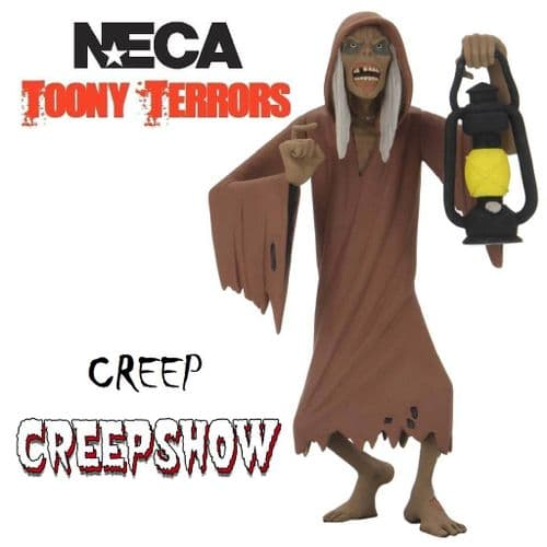 "TOONY TERRORS CREEPSHOW 6"" STYLIZED THE CREEP ACTION FIGURE FROM NECA"
