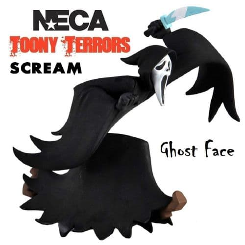 "TOONY TERRORS SCREAM 6"" STYLIZED GHOSTFACE ACTION FIGURE FROM NECA"