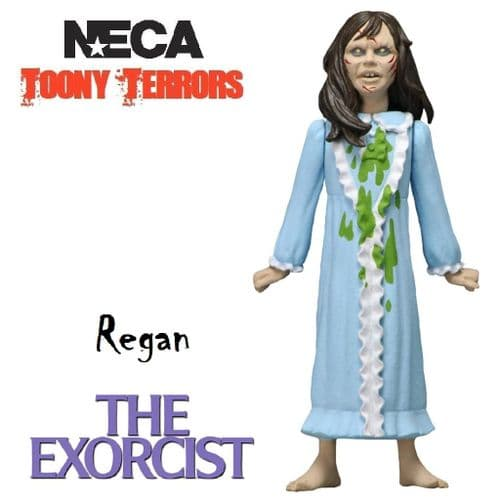 """TOONY TERRORS THE EXORCIST 5"""" STYLIZED REGAN ACTION FIGURE FROM NECA"""