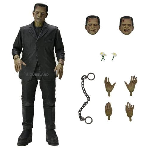 """UNIVERSAL MONSTERS ULTIMATE FRANKENSTEIN'S MONSTER (COLOUR) 7"""" SCALE ACTION FIGURE FROM NECA"""