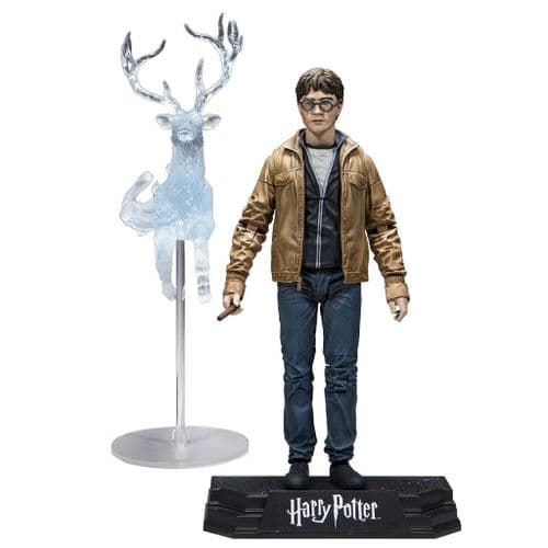 "WIZARDING WORLD OF HARRY POTTER 7"" HARRY POTTER ACTION FIGURE FROM MCFARLANE TOYS"