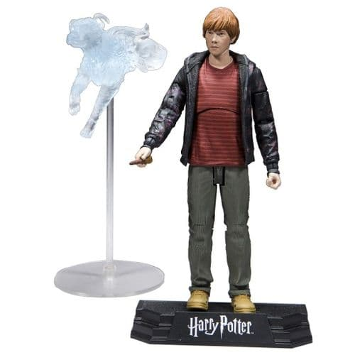 "WIZARDING WORLD OF HARRY POTTER 7"" RON WEASLEY ACTION FIGURE FROM MCFARLANE TOYS"