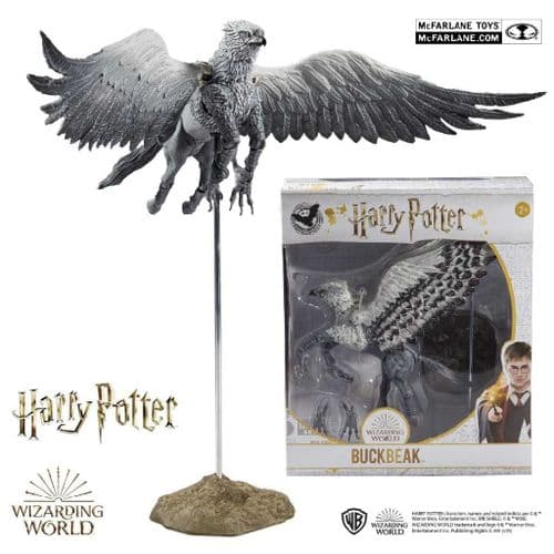 "WIZARDING WORLD OF HARRY POTTER 9"" BUCKBEAK THE  HIPPOGRIFF ACTION FIGURE FROM MCFARLANE TOYS"