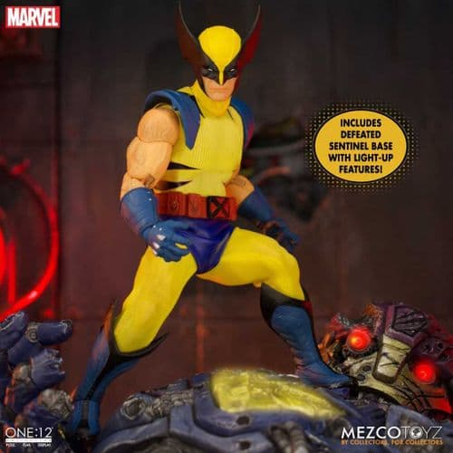 WOLVERINE ONE:12 COLLECTIVE DELUXE STEEL BOX EDITION ACTION FIGURE FROM MEZCO TOYZ