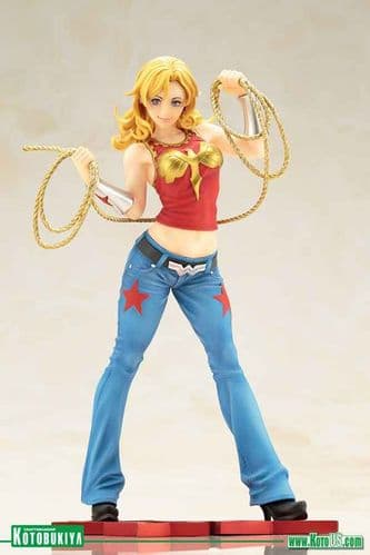 WONDER GIRL DC COMICS BISHOUJO STATUE BY KOTOBUKIYA