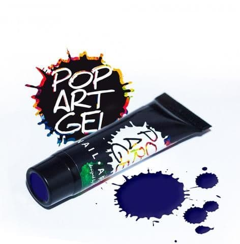 Pop Art Gel Blue
