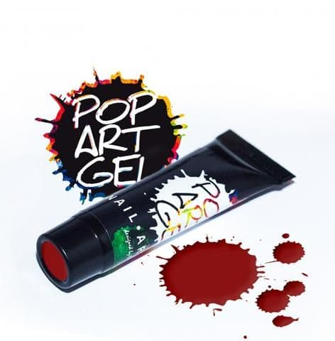 Pop Art Gel Dark Red