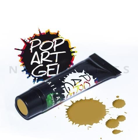 Pop Art Gel Gold