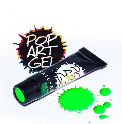 Pop Art Gel Neon Green