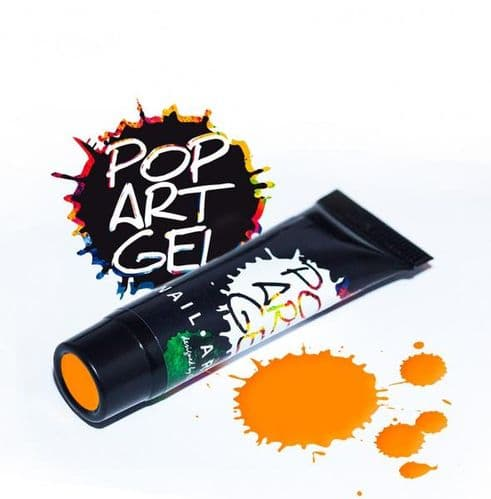 Pop Art Gel Orange