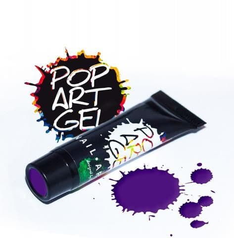 Pop Art Gel Purple