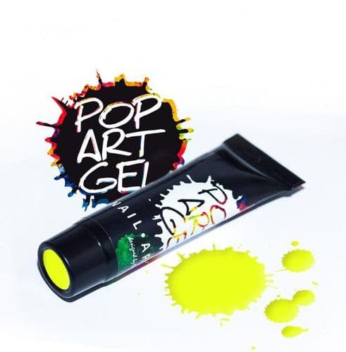 Pop Art Gel Yellow