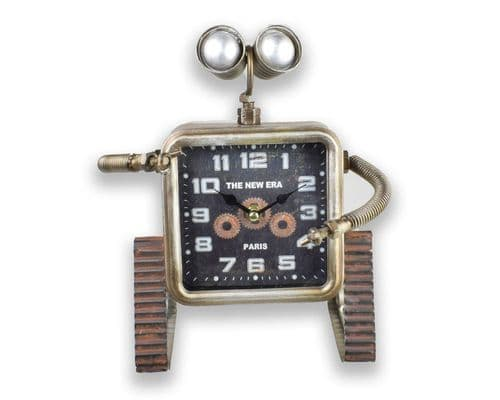 27cm Tracked Robot Desk Top Clock