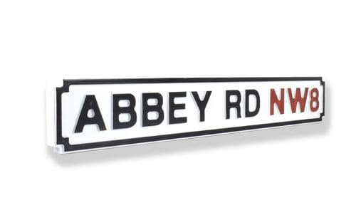 Abbey Road New Shape Clean White