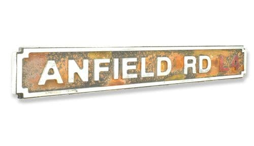 Anfield Rd L4 New Shape Rust Finish