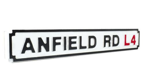 Anfield Road L4 New Shape Clean White