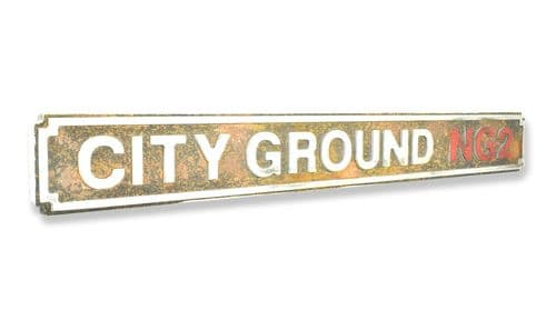 City Ground NG2 New Shape Rust Finish
