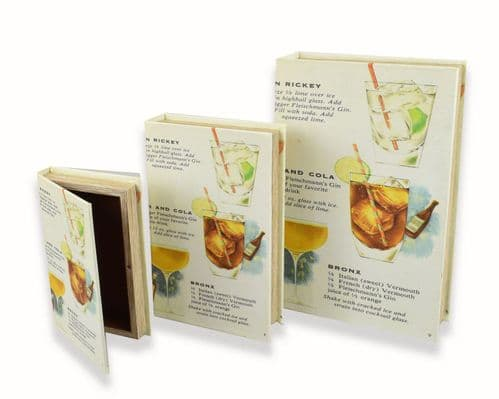 Gin Book Box Set of Three