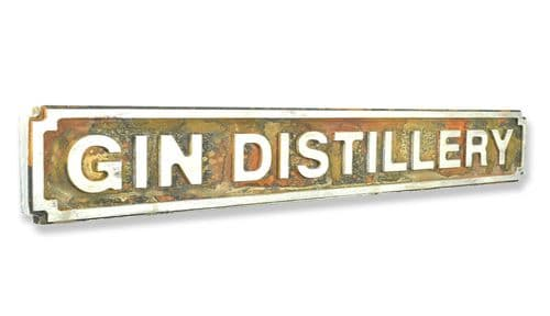 Gin Distillery New Shape Rust Finish