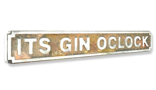 Its Gin Oclock New Shape Rust Finish