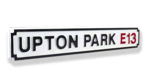 Upton Park E13 New Shape Clean White