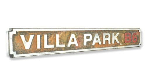 Villa Park B6 New Shape Rust Finish